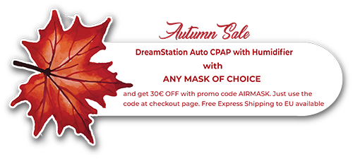 DreamStation Auto CPAP with Humidifier | CPAPstore eu